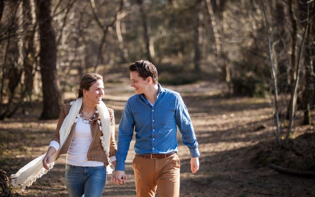 Loveshoot vlakbij Helmond: Lydia & Peter
