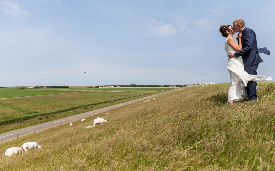 Bruidsfotografie Texel: Jitske & Jelmer