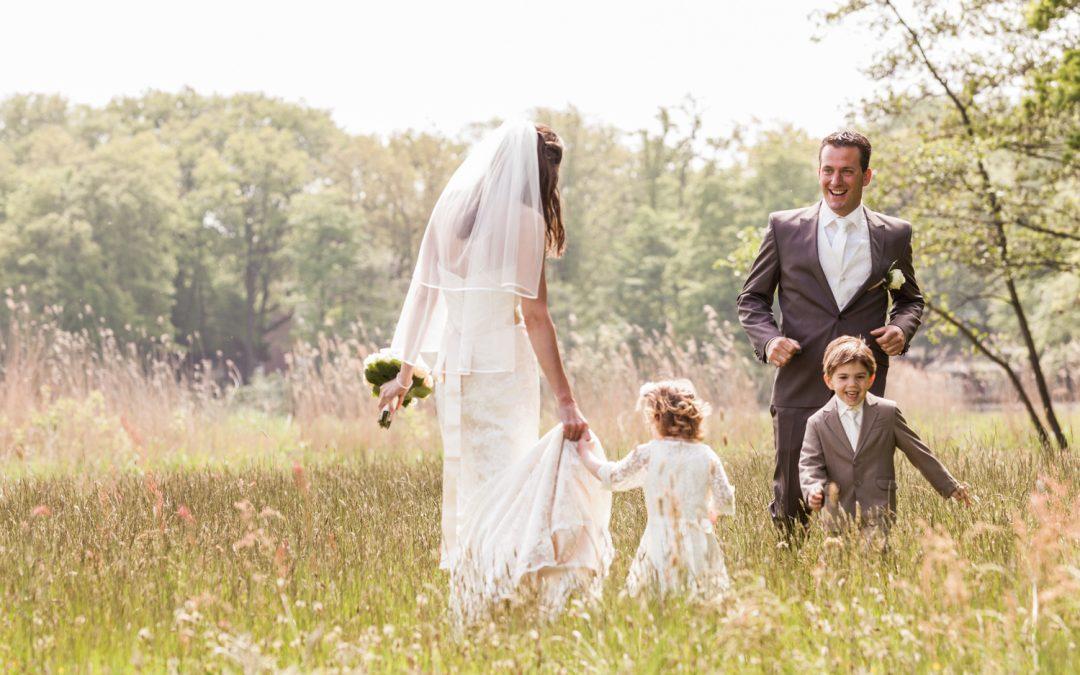 Bruiloft in De Paauw: Judith & Bob