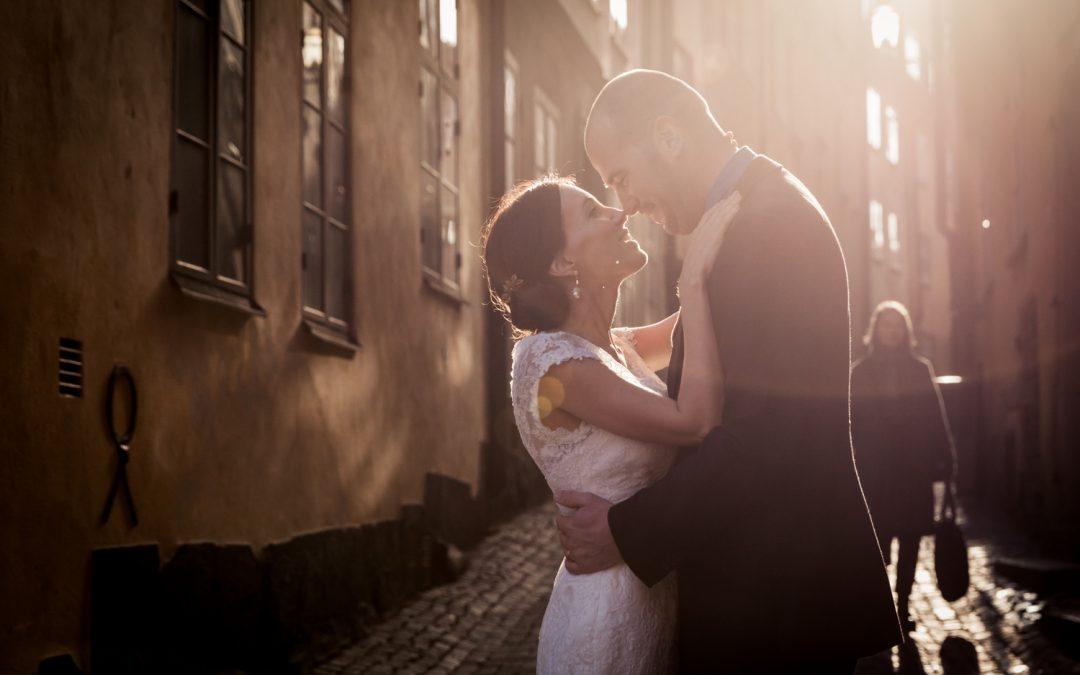 Bruidsfotografie Stockholm: Cecilia & Wouter