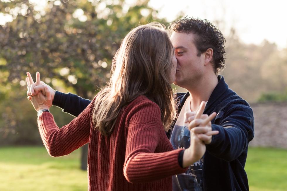 Loveshoot in de herfst: Silvia & Giliam