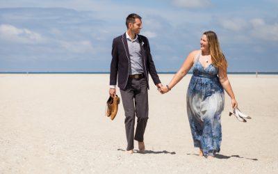 Bruidsfotografie Vlieland: Mariëlle & Menno