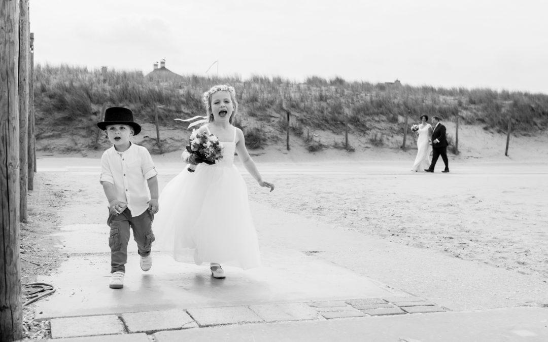 Bruidsfotografie Wit Sand: Annemiek & Eric