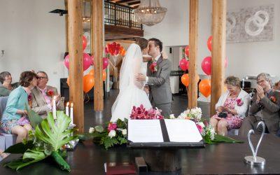 Bruidsfotografie Het Koetshuis: Silvia & Giliam