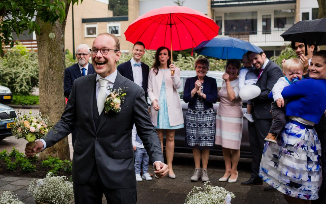 Bruidsfotografie De Knip: Annemieke & Piet