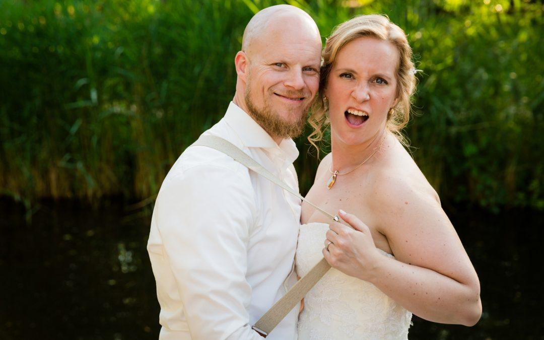 Bruidsfotografie Vreemde Vogel: Janneke & Martijn