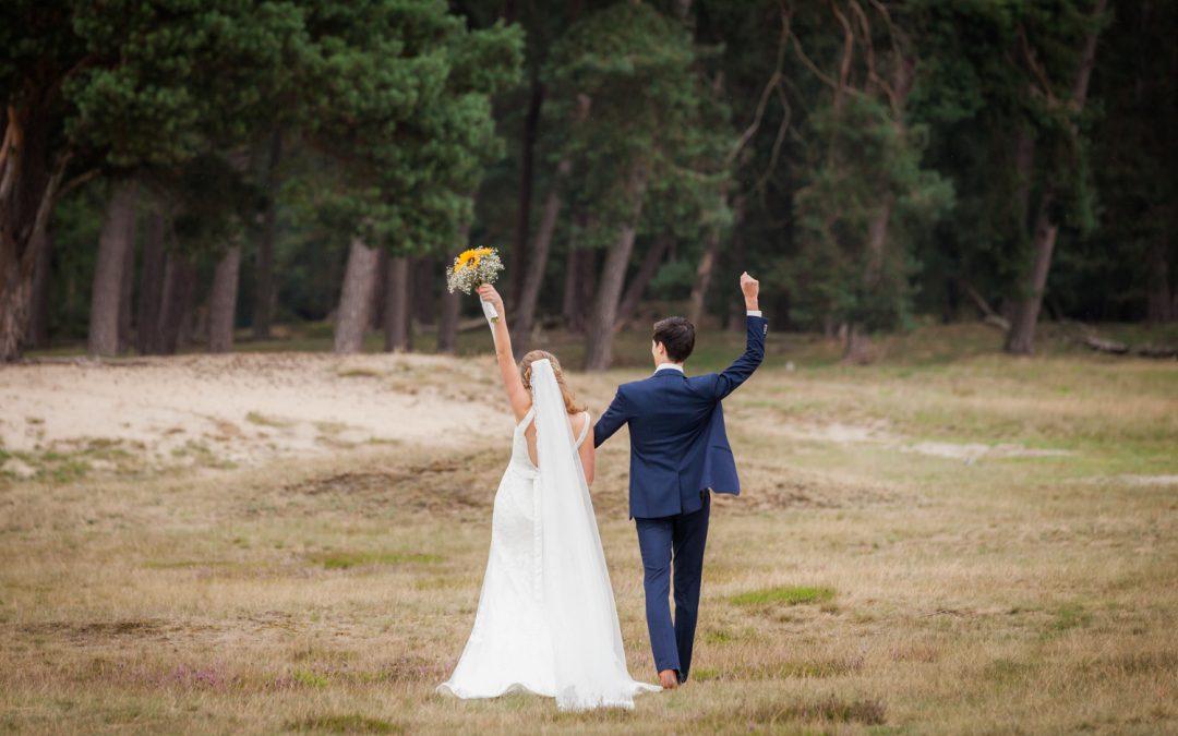Bruidsfotografie Bunnik: Loïs & Niels