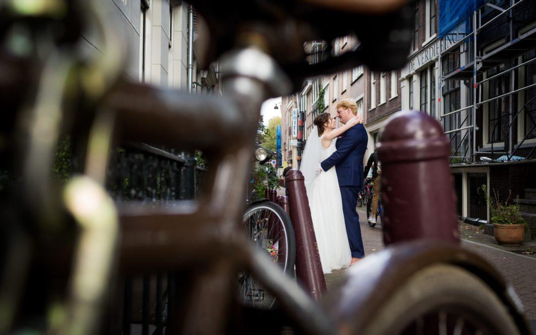 Bruidsfotografie West-Indisch Huis: Josanne & Arne