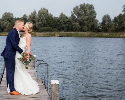 Bruidsfotografie Steinse Tuin: Jolien & Mark