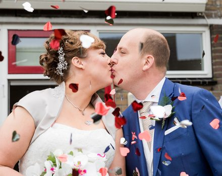 Bruidsfotografie Wet 'n Wild: Kim & Léon