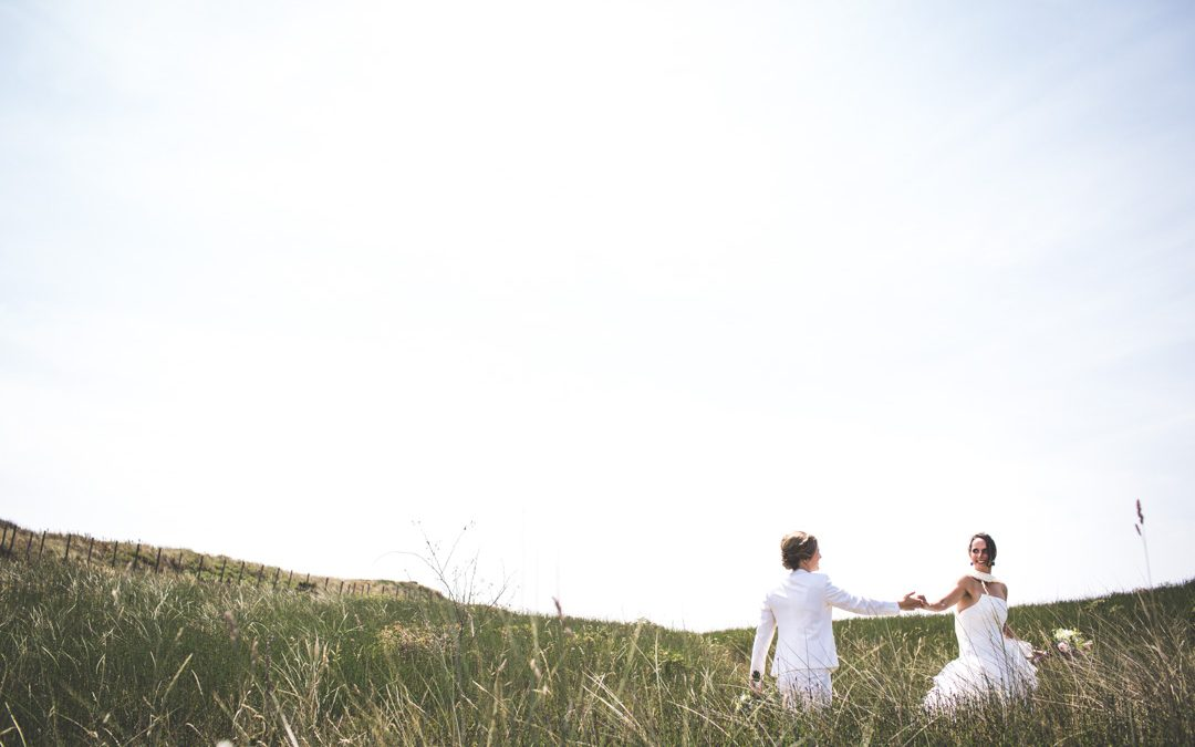 Bruidsfotografie De Kwartel: Jess & Saskia