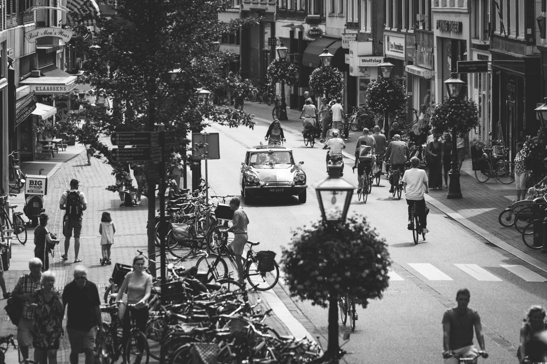 festivalbruiloft Leiden