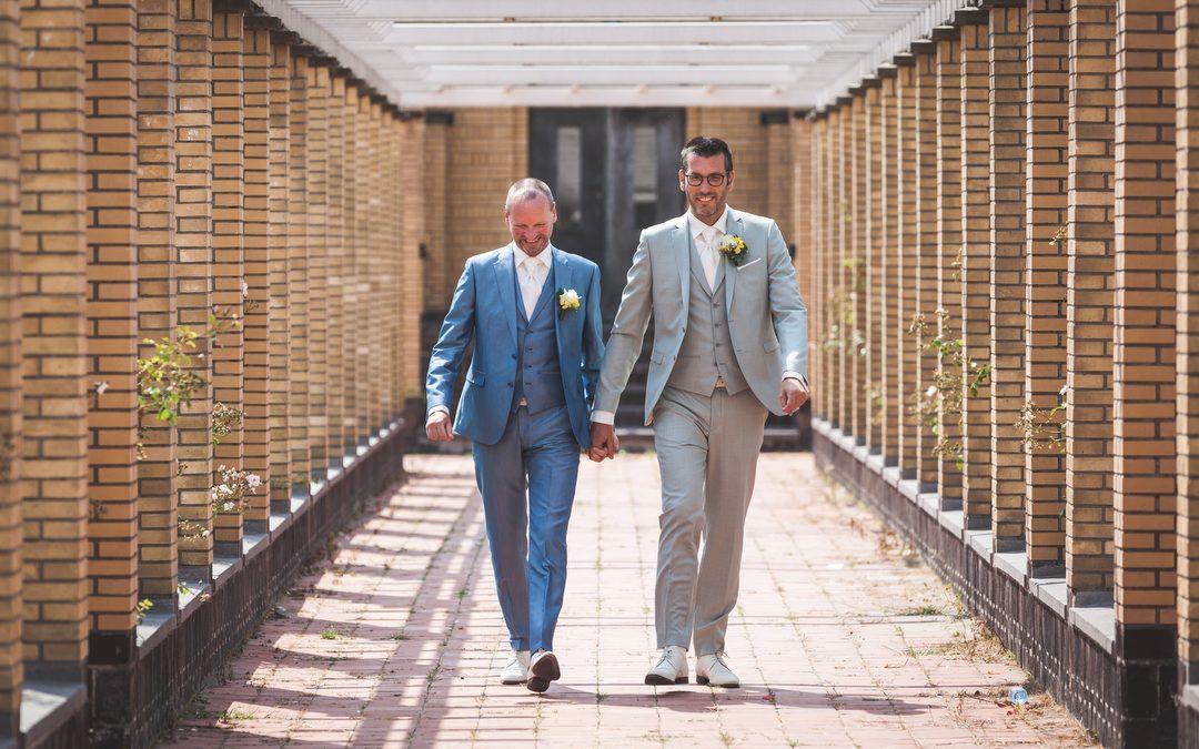 Bruidsfotografie Berlage: Arjan en Pascal