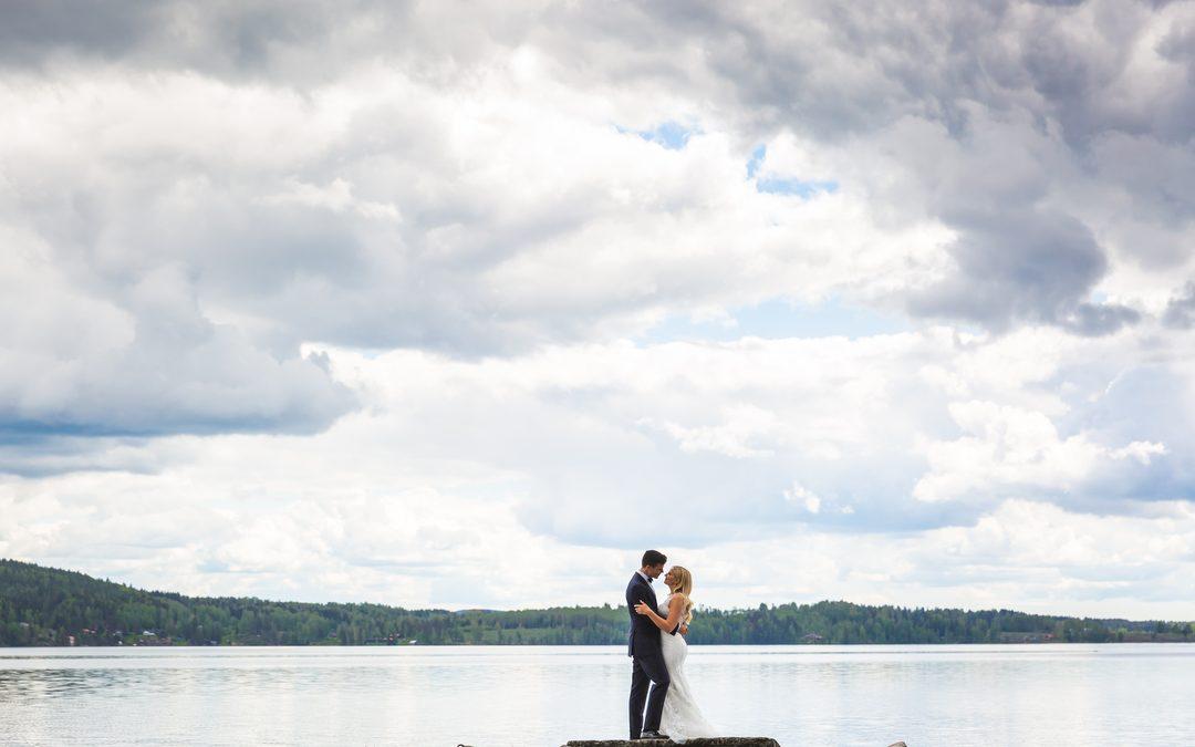 Bruidsfotografie Zweden: Katarina & Elias