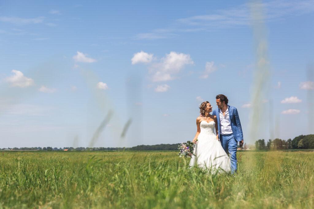 trouwen in eigen tuin